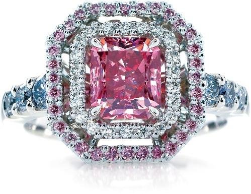 pink diamond engagement ring zales