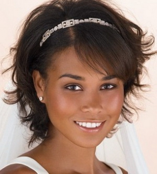 wedding hairstyles black women short hair - Di Candia Fashion