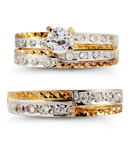 wedding ring sets for him and her wedding rings sets for him and di candia fashion 9992