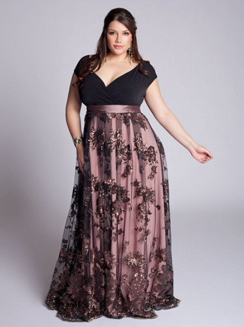 evening dress plus size australia