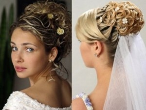 Bridal Hairstyles Updos With Veil Di Candia Fashion