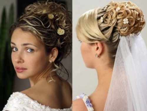 Bridal Hairstyles Updos With Veil