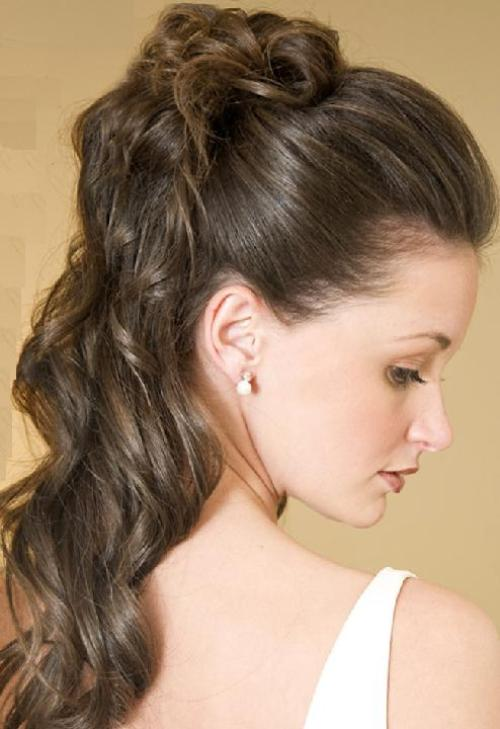 Romantic Updos For Long Curly Hair
