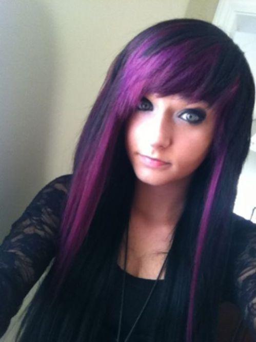 Purple Rinse On Natural Hair
