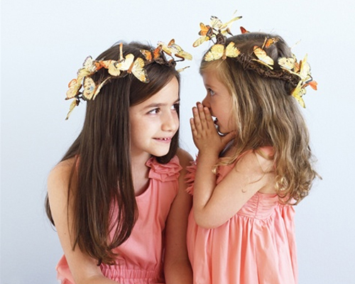 Hairstyles For Flower Girls With Long Hair Di Candia Fashion