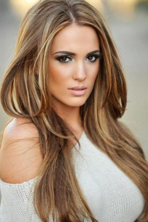 Dark brown hair and blonde highlights light brown hair and blonde highlights pmusecretfo Image collections