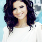 purple brown hair selena gomez