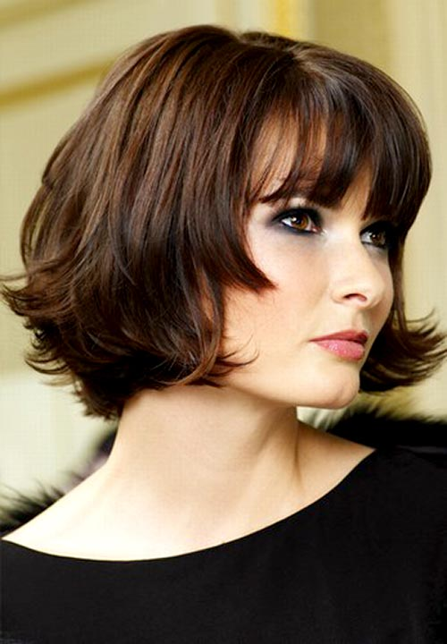 Short Hairstyles For Women Brunette Di Candia Fashion