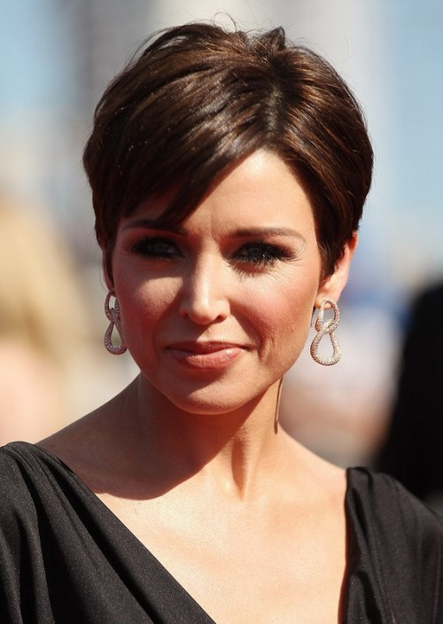 short hairstyles with bangs 2013 - Di Candia Fashion