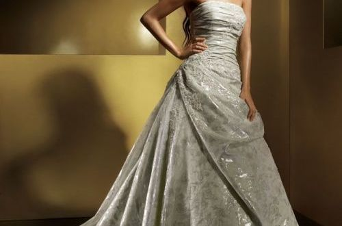 Silver Wedding Dresses Uk