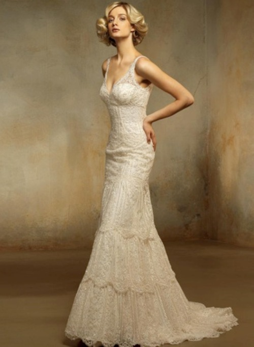 Simple Elegant Vintage Wedding Dresses