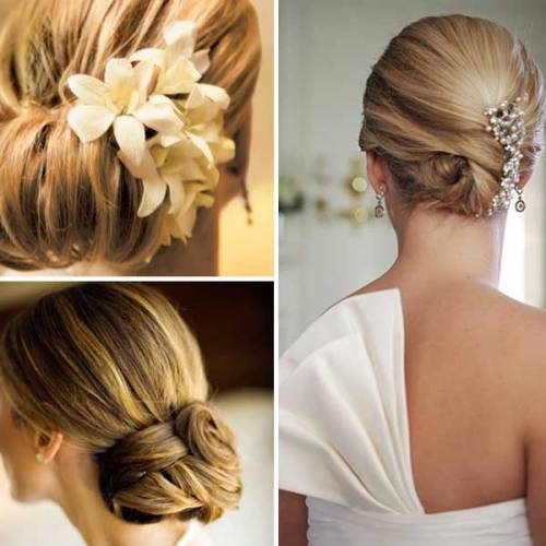 Tamil Wedding Hairstyle With Flowers Di Candia Fashion
