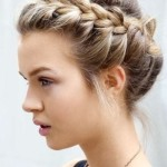 wedding updo hairstyles with braids