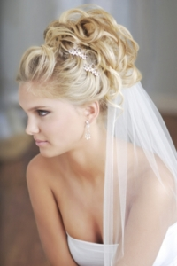 Wedding Updos For Long Hair With Veil Di Candia Fashion