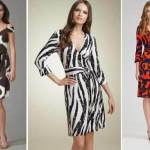 wrap over style dresses 2013