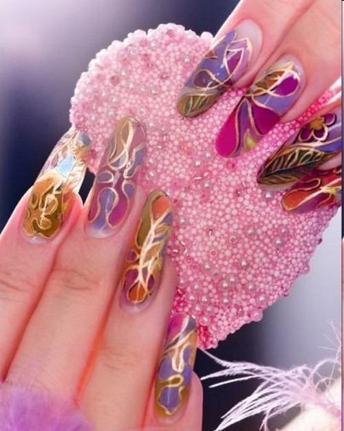 beautiful nails for girls pictures