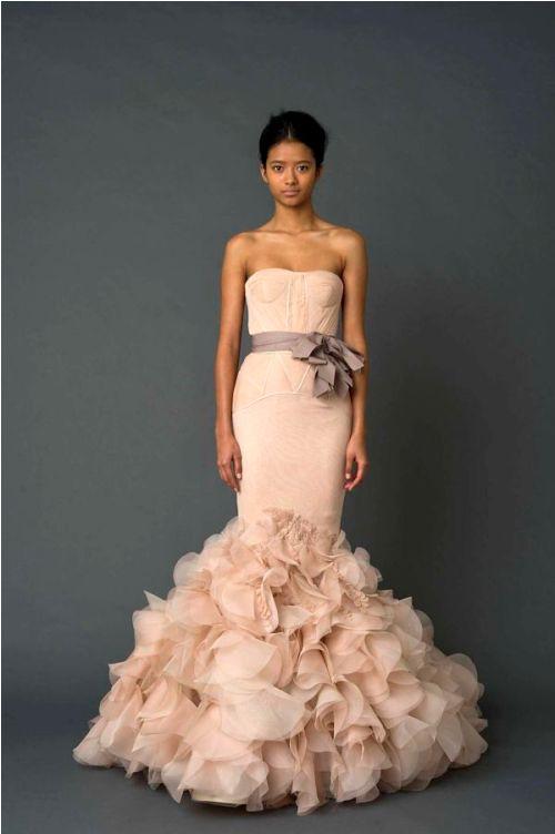 blush vera wang wedding dress for sale