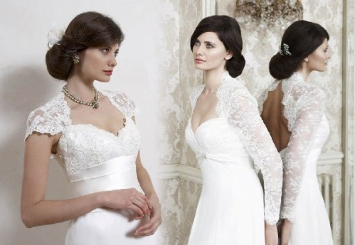 classic lace wedding dresses with sleeves