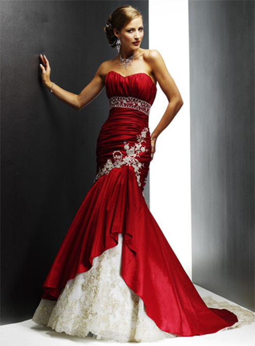 Classy red wedding dress 2013 for Where to buy red wedding dress