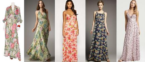 Floral maxi dress plus size di candia fashion for Plus size maxi dresses for summer wedding