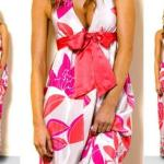 floral maxi dress polyvore