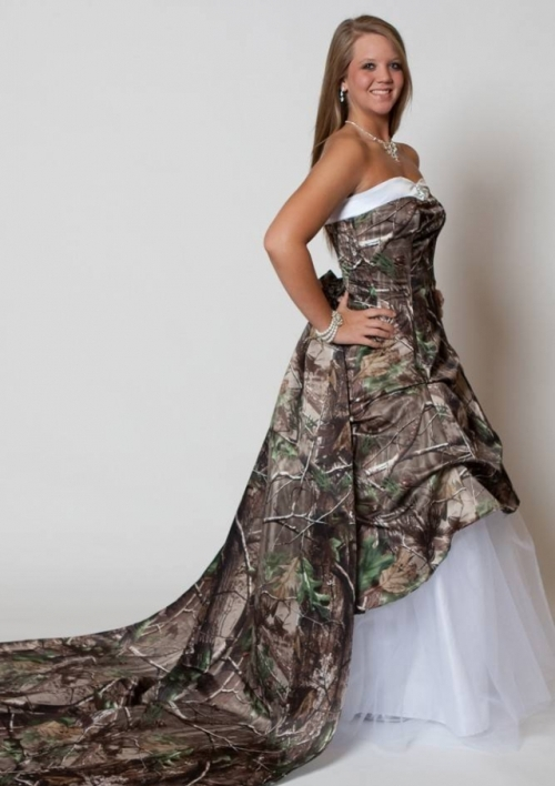 long tight camo prom dress pictures - Di Candia Fashion