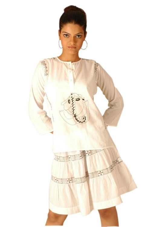 skirt top for girls ideas