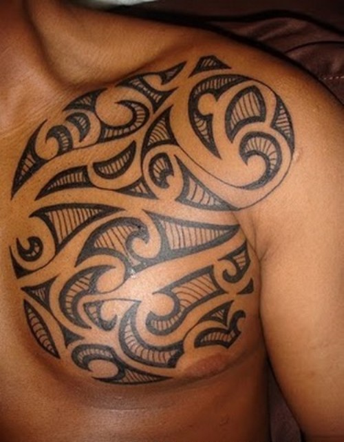 Tattoos On Back Shoulder For Men