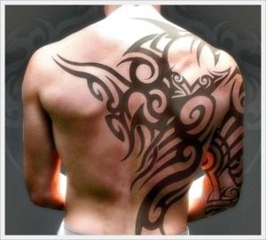 tattoos for your back men designs