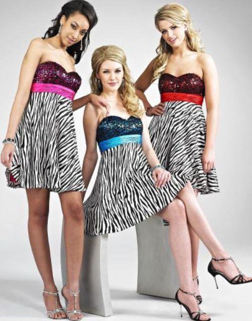 Animal Print Cocktail Dresses for Women
