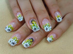 acrilyc nail design ideas