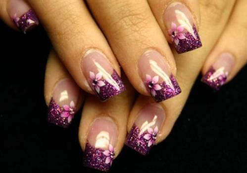 acrilyc nail design pictures
