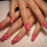acrilyc nail design pinterest