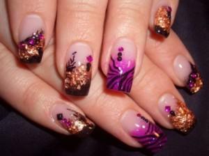 cute acrylic nail designs tumblr