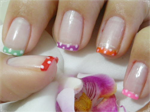 cute easy nails art picture