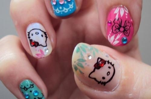 Hello Kitty Nail Designs Tumblr
