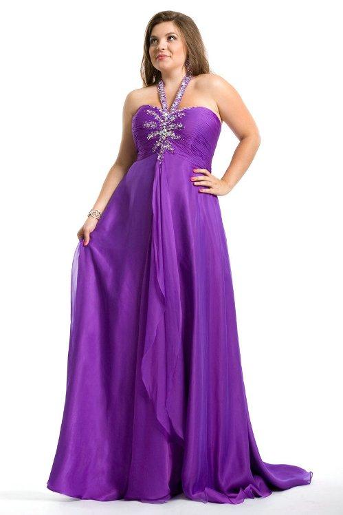 Long Dresses For Chubby Women Evening Di Candia Fashion