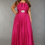 long dresses for chubby women formal