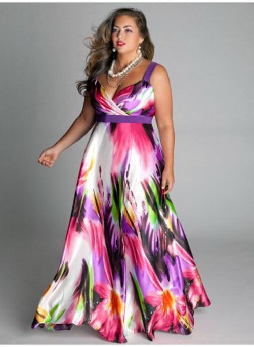 Long Dresses For Chubby Women Summer Di Candia Fashion