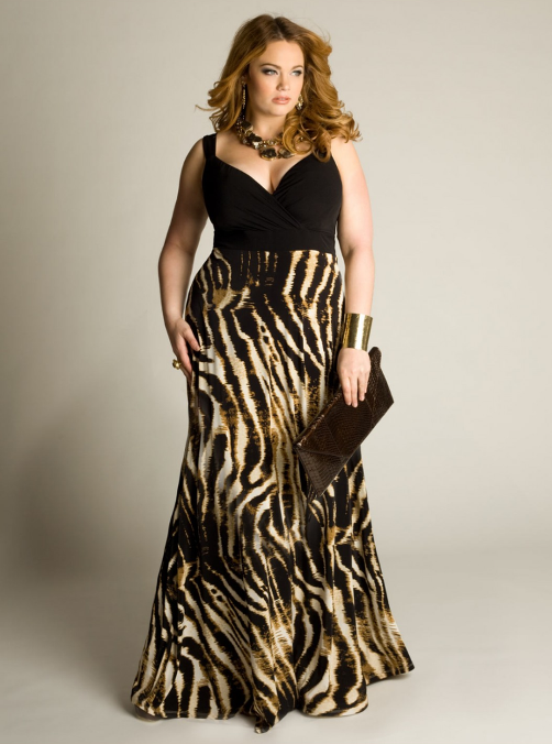 plus size maxi dress pattern