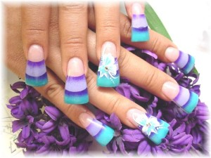 pretty acrylic nail designs tumblr