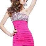 short pink prom dresses under 100