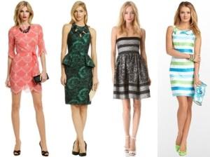 semi formal matching dresses women