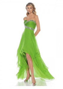 short prom dresses with tails 2013