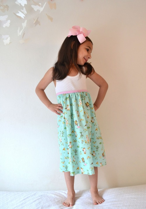 simple dress for kids girls