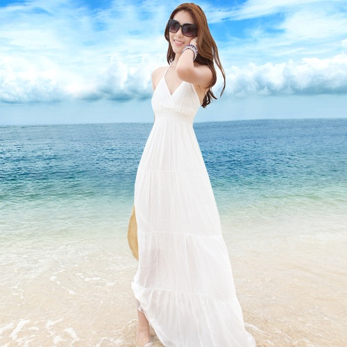 white beach wedding dresses casual di candia fashion