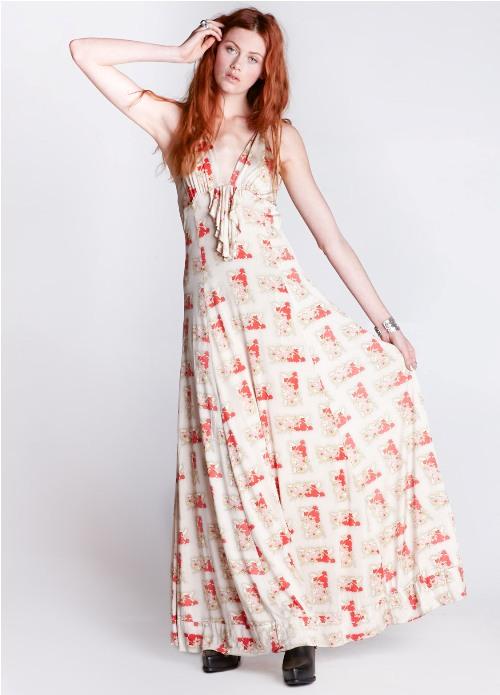 womens floral maxi dresses 2013