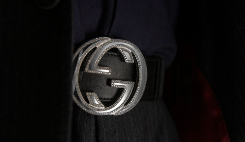Gucci belt with diamonds for sale