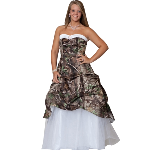 camo wedding dress honey boo boo