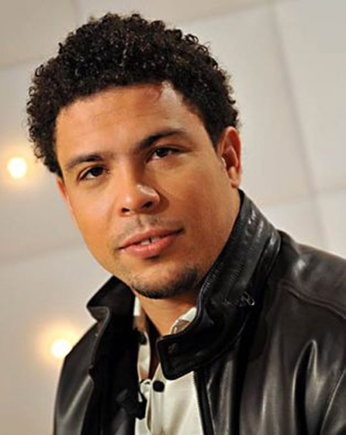 curly hair styles black men